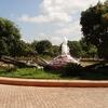 A Fountain At VTU Campus Entrance