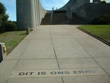 Inscription In The Pathway