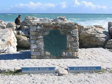 Plaque At Cape Agulhas