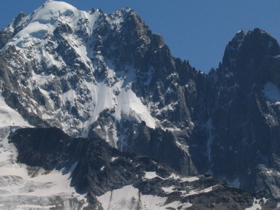The Aiguille Verte From Montagne De La Flegere