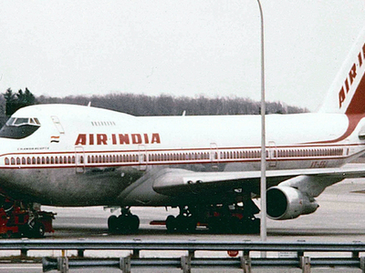 Air India Boeing 747-200B At Montréal–Mirabel International Airport