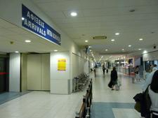 Rhodes Airport International Arrivals Terminal