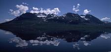 Áhkká Seen From Lake Áhkájávrre