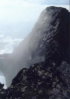 Top Of Áhkká From Northern Peak