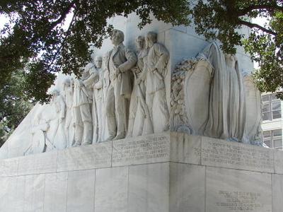 Cenotaph In Alamo Plaza