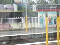 Albion estación de tren