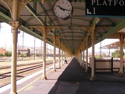Albury Railway Station Platform