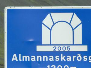 Almannaskarð túnel