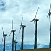 Wind Turbines At Altamont Pass