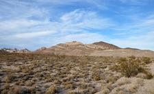 Amargosa Desert And Bullfrog Hills Near Rhyolite
