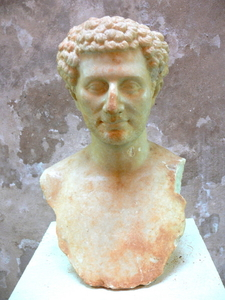 Portrait Bust Of A Roman Man