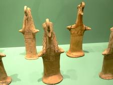 Clay Figurines Of Bird-Faced Women