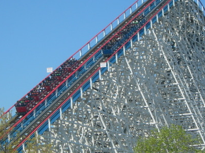 Eagles 127-Foot-Tall Lift Hill