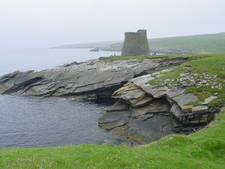 A Misty Day At Mousa Broch