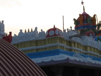 Ananthasagar Temple Side View