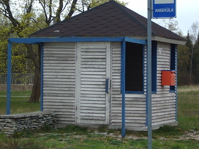A Bus Stop In Anseküla