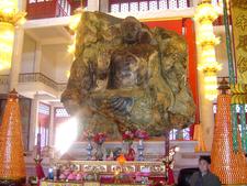 Front View Of Anshan Jade Buddha