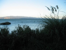 Aorangi Range Over Lake Wairarapa