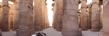A Panoramic View Of The Great Hypostyle Hall
