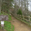 Appalachian Trail Which Leads Into The Boulevard Trail