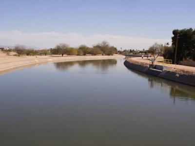 Arizona Canal In Scottsdale
