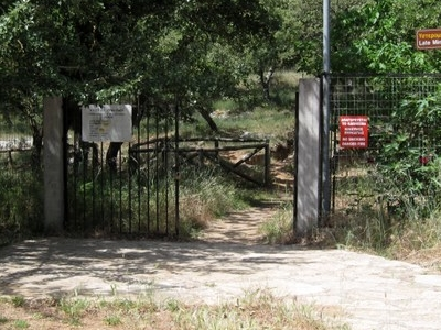 The Entrance To The Site