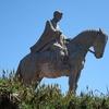 Artigas Statue In Parque Artigas Minas