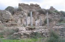 Roman Ruins At Ashkelon National Park