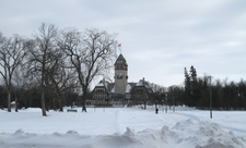 Assiniboine Park In Winter