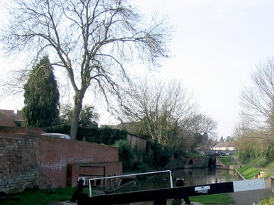A Stretch Of The Canal In Stratford
