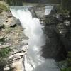 View Of Athabasca Falls