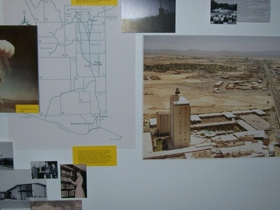 Atomic Testing Museum Nevada Test Site Map