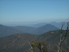Australian Alps Viewed From Snowy River