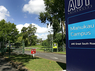AUT University Manukau Campus Entrance
