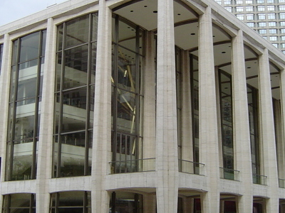 Avery Fisher Hall In Lincoln Center