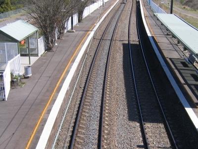 Awaba Station From Bridge