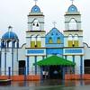 Facade Of The Church In Ayapa