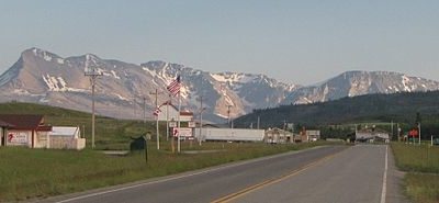 Babb - Glacier - Montana - USA