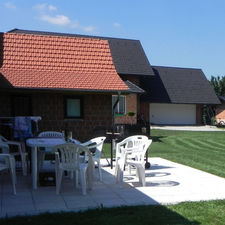 Terrace With Garden Furniture & BBQ