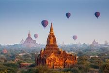Bagan Temples In Myanmar