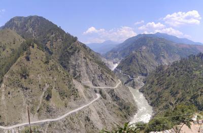 View Of Baglihar Dam