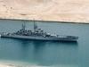 USS Bainbridge In Suez Canal