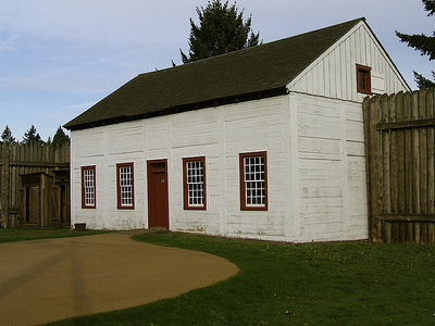 Bakehouse - Fort Vancouver Historic Site WA