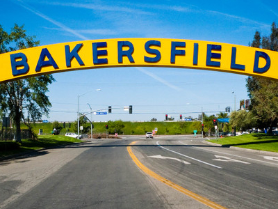 Bakersfield  C A    Sign