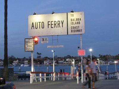 Balboa  Peninsula  Ferry  Terminal