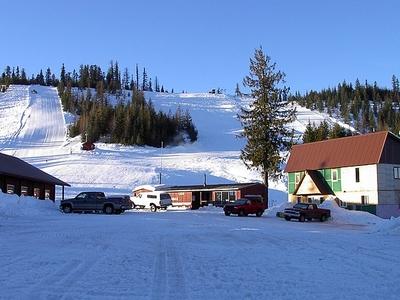 Bald Mt Ski Area Pierce Idaho