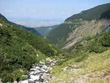 Balea Cascada In Fagaras Mountains