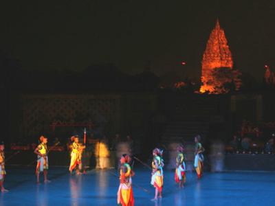 Balet Ramayana - Pembanan Temple Complex