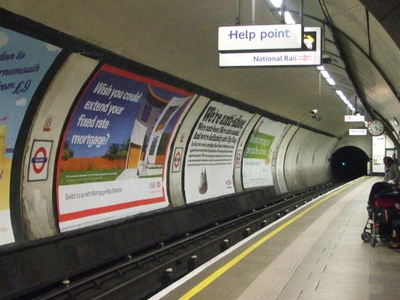 Northbound Northern Line