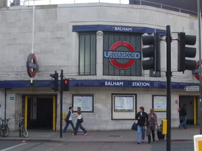 Balham Station Entrance
